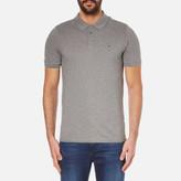 Calvin Klein Paul Polo Shirt Mid Grey Heather