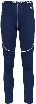 Perfect Moment Contrast Detail Thermal Ski Leggings