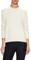 Wool Crew Neck Wrapped Sweater