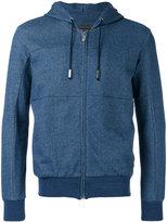 Eleventy zipped hoodie - men - Cotton - M