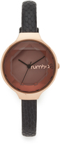 RumbaTime Orchard Gem Exotic Leather Black Watch