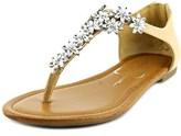 Jessica Simpson Ryler Women Open-toe Leather Slingback Sandal.