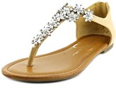 Jessica Simpson Ryler Women Open-toe Leather Tan Slingback Sandal.