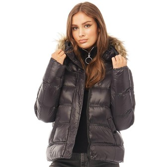Brave Soul Womens Hopshines Jacket Black