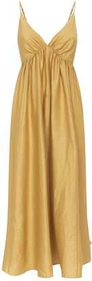 Loup Charmant Linen Adelaide Midi Dress