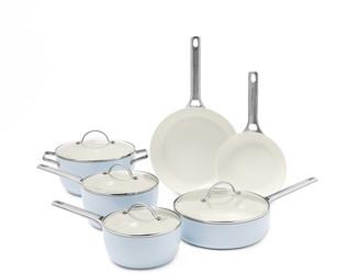 Green Pan Padova Ceramic Nonstick 10-Piece Cookware Set