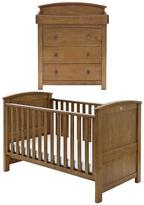 Silver Cross Ashby Cot Bed And Dresser