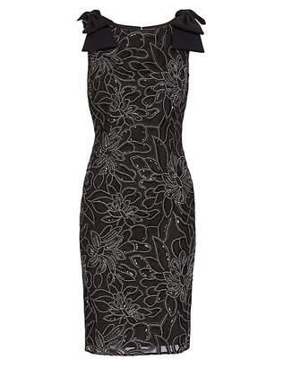 Gina Bacconi Norelli Embroidered Dress