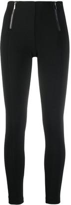 Armani Exchange Zip-Detail Leggings