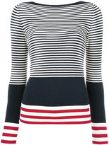 Antonio Marras striped top - women - Polyester/Viscose - M