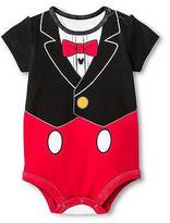 Disney Baby Boys' Mickey Mouse Bodysuit Red ;