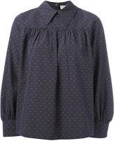 MAISON KITSUNÉ Mae flowing blouse - women - Cotton - 38