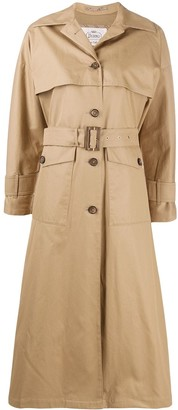 Herno Patch Pockets Trench Coat