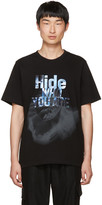 Juun.J Black hide Who You Are T-shirt