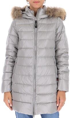 Woolrich Fur Trim Padded Jacket