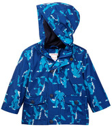 Joe Fresh Allover Print Rain Jacket (Baby Boys)