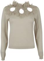 Blugirl Ruffled Neckline Sweater