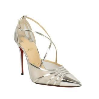 Christian Louboutin \N Silver Leather Heels