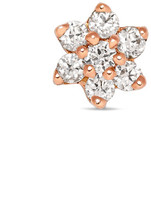 Maria Tash 18-karat Rose Gold Diamond Earring