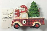 Nordstrom Christmas Hanging Ornament-Firetruck