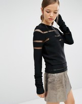 Asilio Killer Within Knit Sweater with Panels