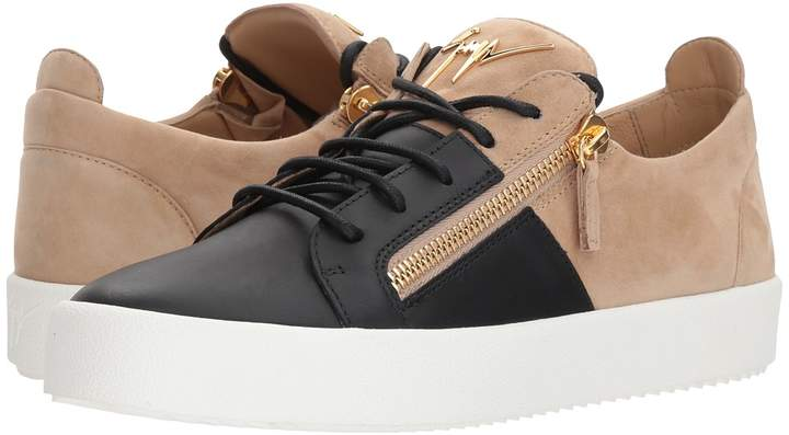Giuseppe Zanotti May London Color Block Low Top Sneaker Men's Shoes