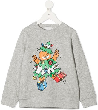 Stella McCartney Kids Dancing Tree Print Sweatshirt