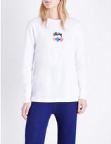 Stussy Tetra cotton-jersey top