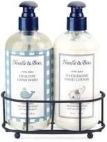 Noodle & Boo Healthy Hand Wash and Wholesome Hand Lotion Caddy Gift Set
