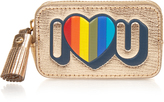 Anya Hindmarch I Love U leather coin purse