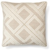 Threshold Beige Geo Patchwork Toss Throw Pillow