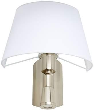 Leds C4 05 – 2814 – 81 – 14 Balmoral Wall Light 1 x Cree LED 3 Watt 1 x E27 60 Watt Nickel