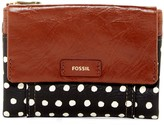 Fossil Ellis Printed Leather Wallet
