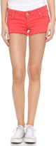 True Religion Joey Cutoff Shorts with Flap Pockets