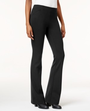 Style&Co. Style & Co Bootcut Ponte Pants, Created for Macy's