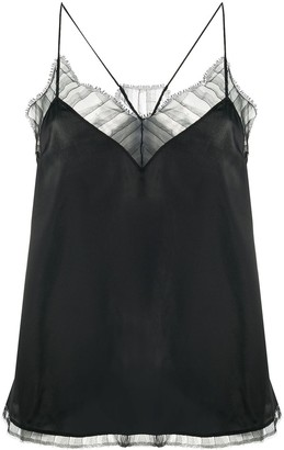 IRO Lace-Detail Camisole Top