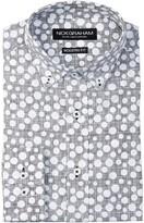 Nick Graham Reverse Dot Modern Fit Dress Shirt