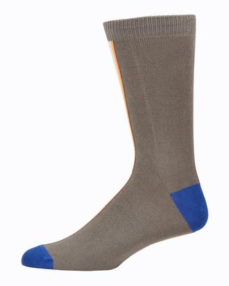 Paul Smith Men's Vertical Block Socks