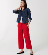 LOFT Cropped Sailor Pants