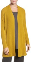 Eileen Fisher Petite Women's Long Wool Cardigan