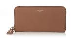 Saint Laurent Grained-leather continental wallet