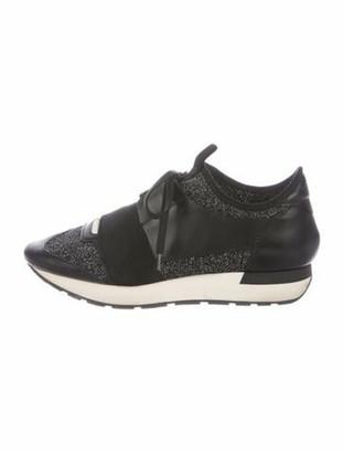 Balenciaga Race Runner Chunky Sneakers Black