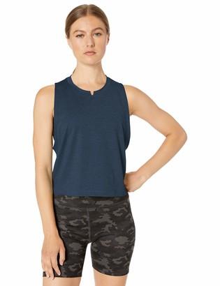 Core 10 Amazon Brand Women's Soft Workout Cropped Tank