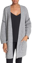 Autumn Cashmere Women's Oversized Cashmere Open Cardigan