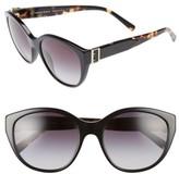 Burberry Women's 55Mm Gradient Cat Eye Sunglasses - Black