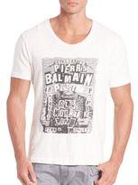 Pierre Balmain Party Invitation Graphic T-Shirt