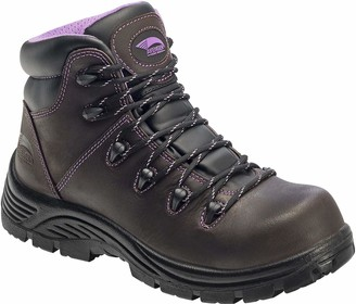 FSI FOOTWEAR SPECIALTIES INTERNATIONAL Avenger Women's 7123 Leather Waterproof Puncture Resistant Comp Toe EH Work Boot Industrial and Construction Shoe