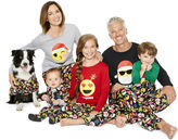 North Pole Trading Co. Merry Textmas Microfleece Family Pajamas-Women's