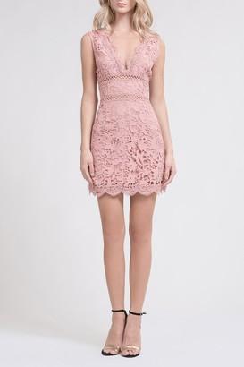 J.o.a. Lace Mini Dress