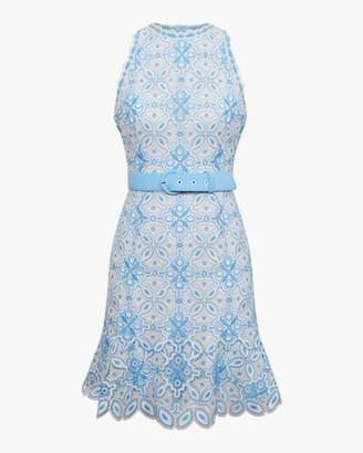 Jonathan Simkhai Charlotte Guipure Lace Mini Dress
